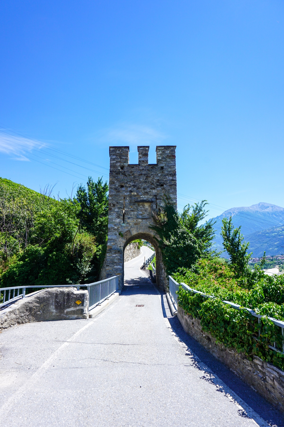 The old bridge over the Dala